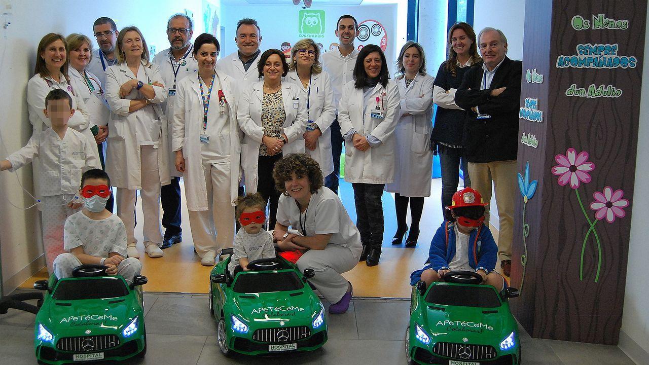 Los niños del Cunqueiro irán en Mercedes al quirófano