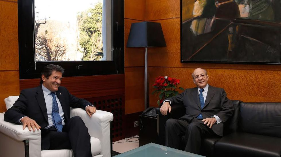 .Plácido Arango, junto a Javier Fernández