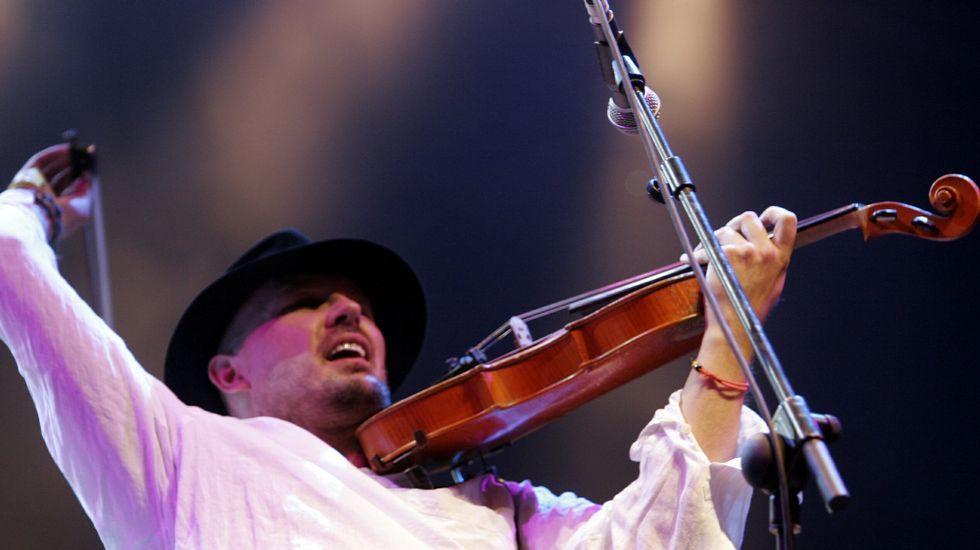 Concierto de la banda polaca Kroke, en el fiestival del 2007.