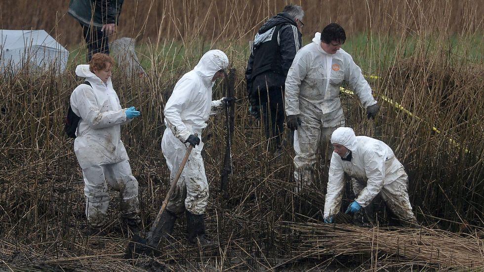 Neorurales en Santa Eulalia de Oscos.La policía sigue buscando los restos de la familia asesinada.