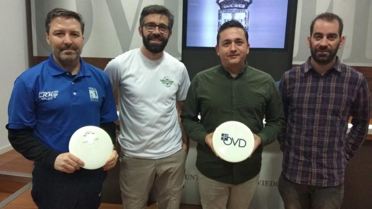 Presentación del IV Open de España de Disc Golf