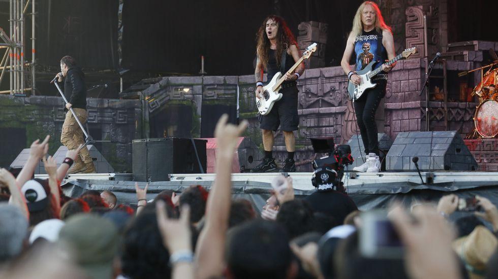Iron Maiden en el Resurrection de Viveiro