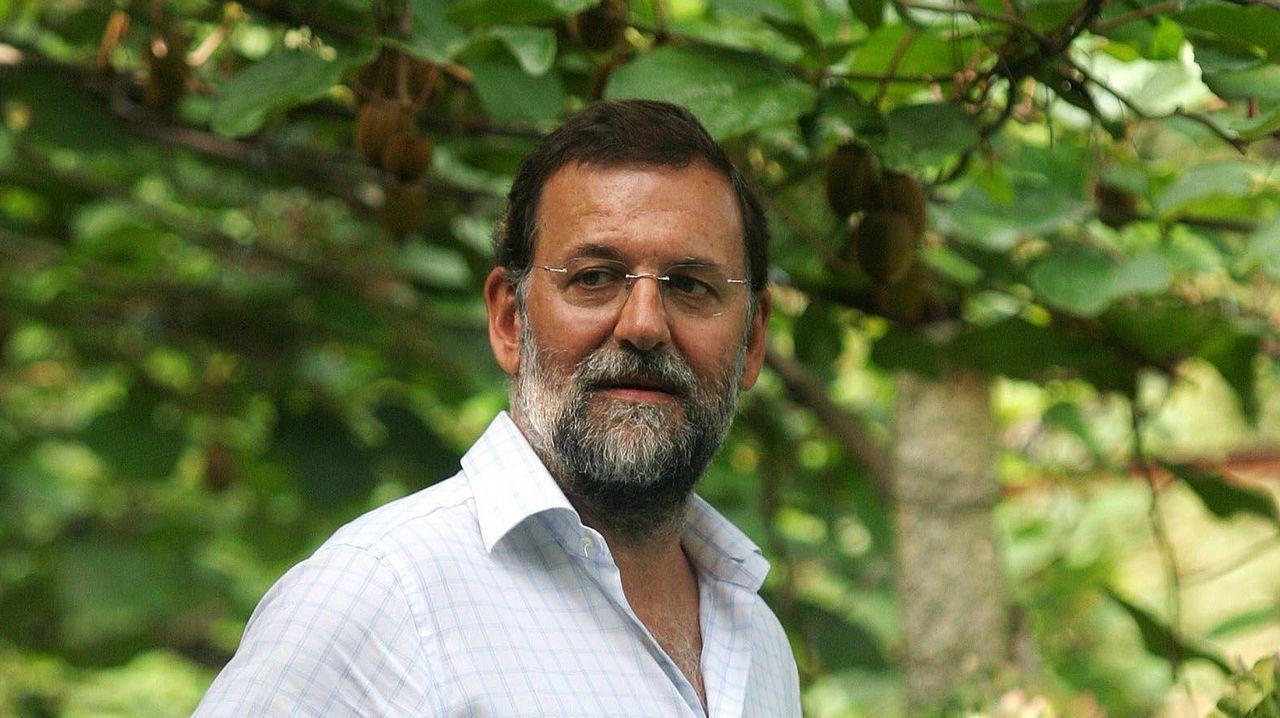Pablo Casado: «Si presido el PP, Feijoo será lo que él quiera».Imagen de Jesús Cardenal en A Coruña en 2002