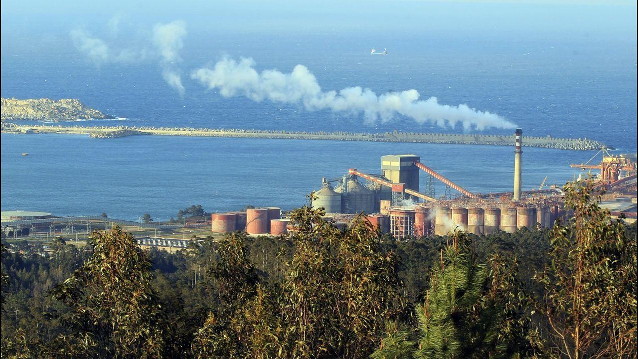 Las empresas de la provincia conquistan el mundo.Alcoa, una de las empresas gallegas con más consumo de energía
