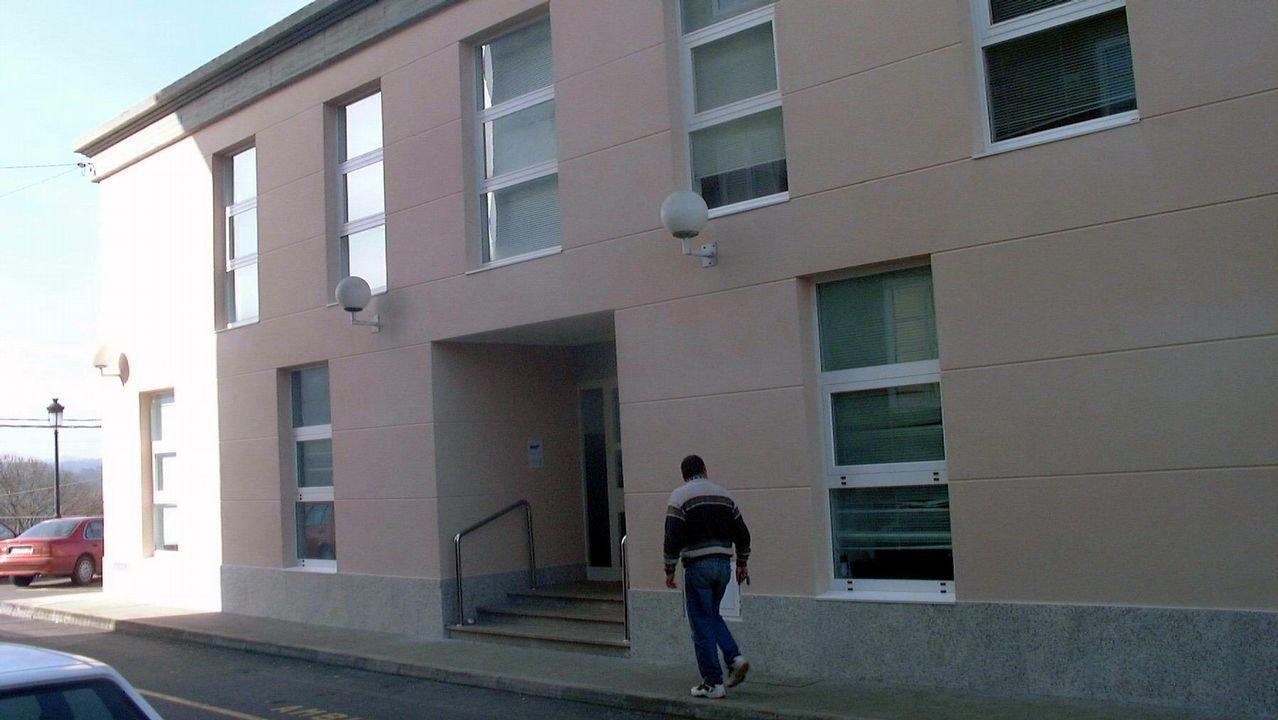 .Centro de salud de Zas