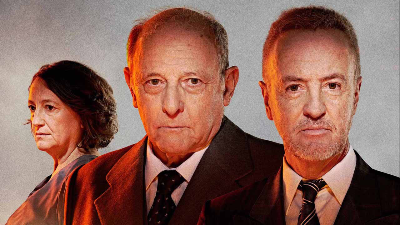 Carlos Hipólito, Gutiérrez Caba y Malena Gutiérrez
