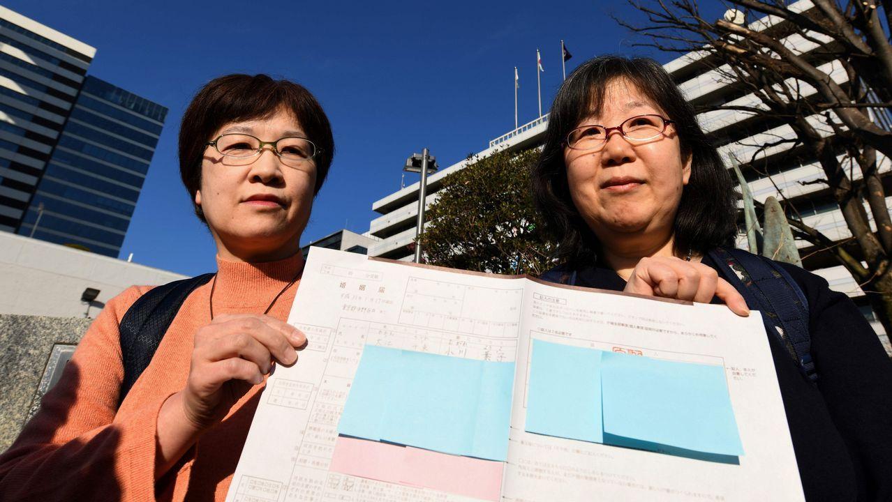 Yoko Ogawa y Chizuka son dos lesbianas japonesas que reclaman que el matrimonio homosexual se normalice en Japón