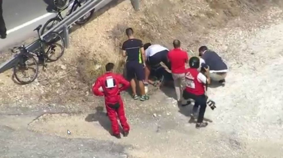 La última etapa de la Vuelta, en imágenes