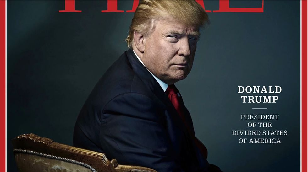 Trump, el presidente de los «estados divididos» de América.