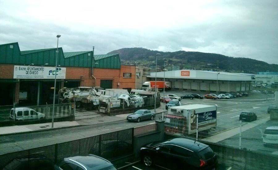 Sogepsa.Los termómetros en Oviedo rebasaron los 30 grados