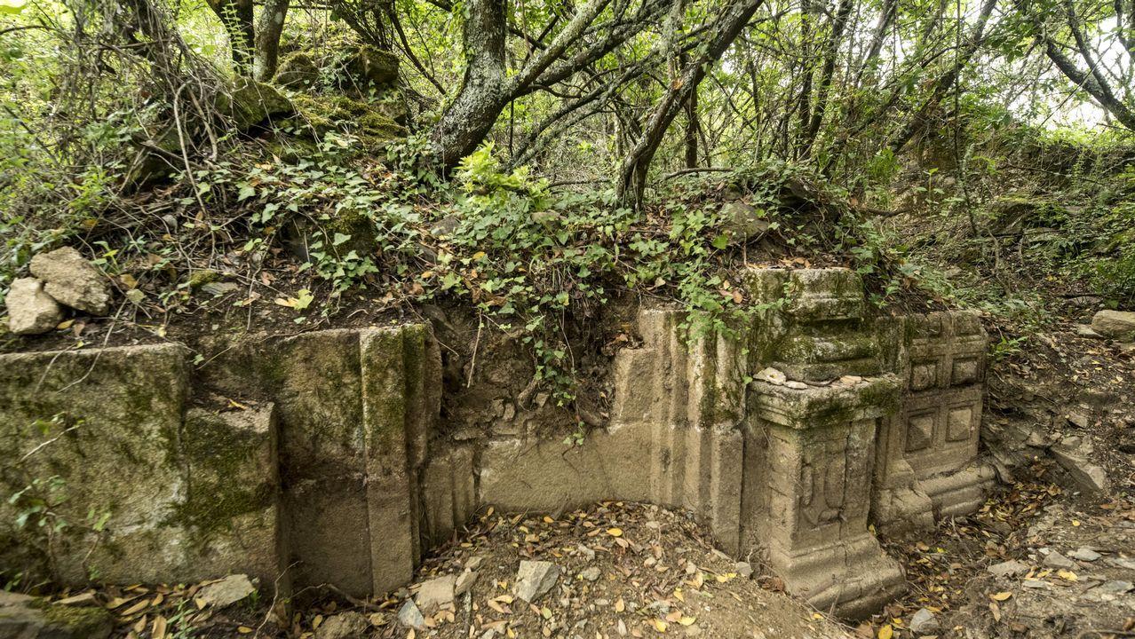 Un itinerario visual por el complejo minero de O Covallón