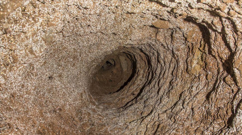Respiradero en el techo de una bodega