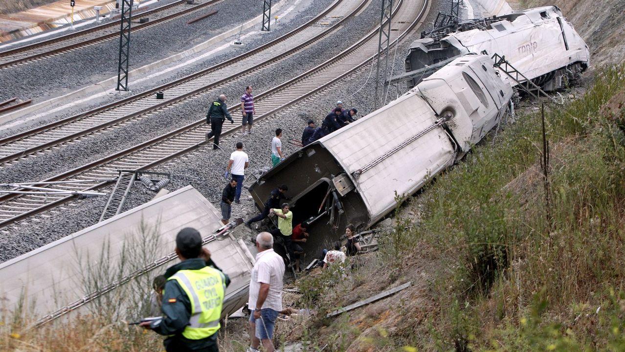 La investigación del accidente de O Porriño pone la lupa en el uso de maquinistas foráneos