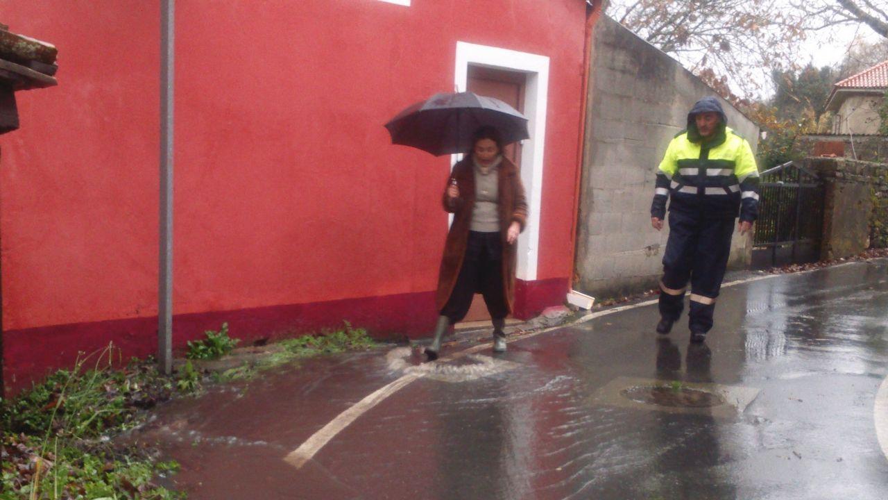 Dos viviendas de Limodre sufrieron inundaciones de aguas fecales procedentes de la red general