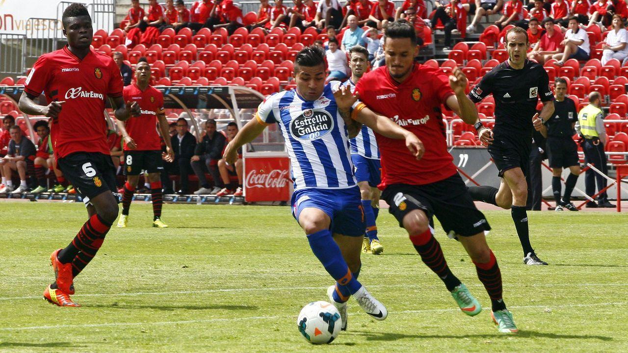 Quique González ha marcado un gol en las ocho últimas jornadas