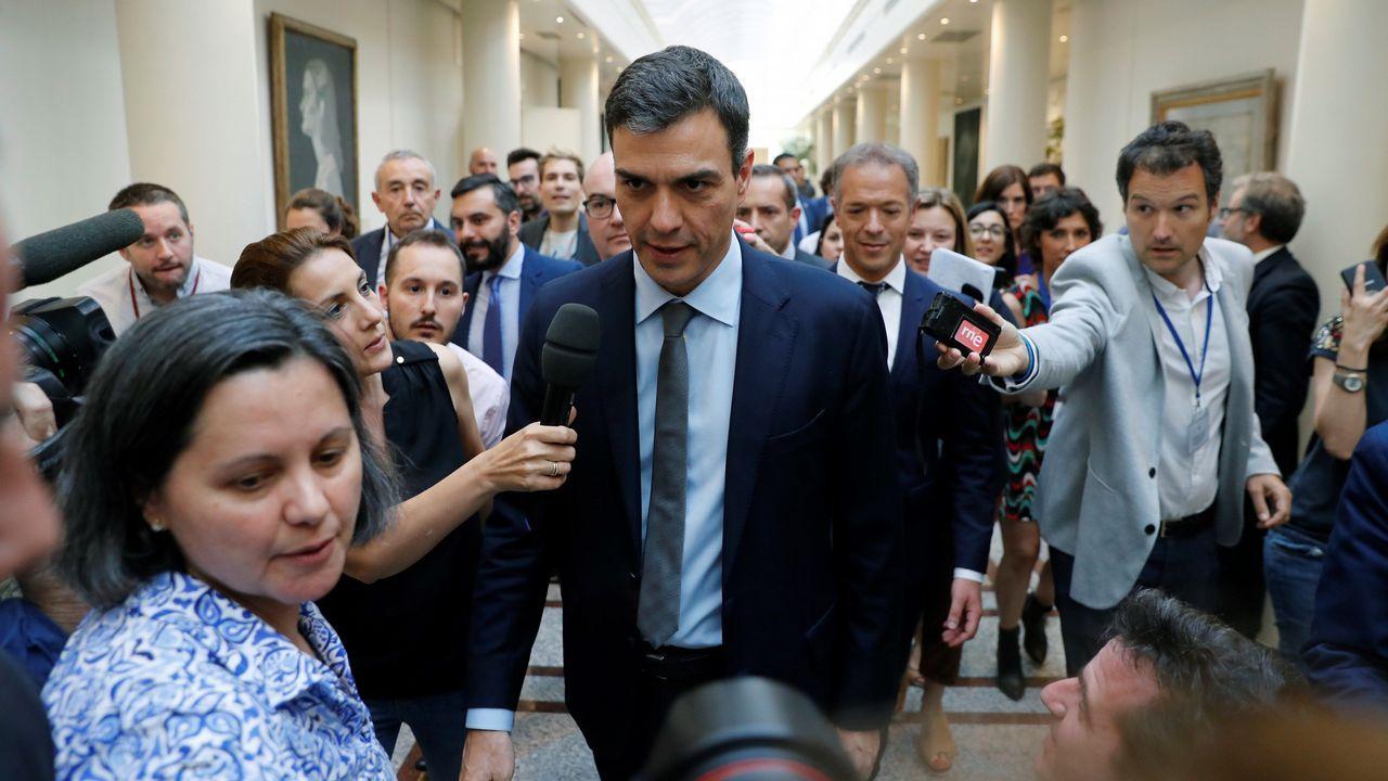 Pablo Iglesias fue recibido por el presidente Torra en el Palau de la Generalitat
