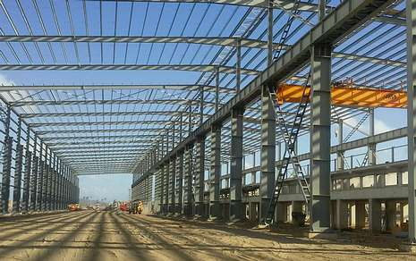 La empresa dezana participa en el proyecto de una nueva planta siderúrgica en Fortaleza (Brasil).