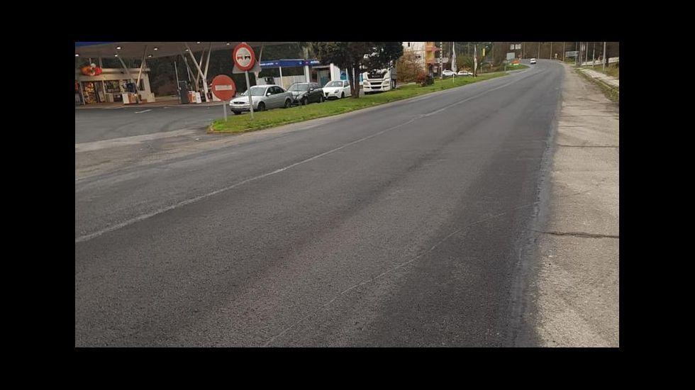 La carretera más peligrosa de España está en Ribadeo.En Millarouso, la circunvalación girará a la derecha para cruzar el Sil en un viaducto