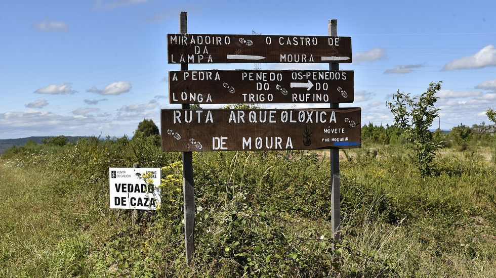 Ruta de senderismo de Moura (Nogueira de Ramuín)