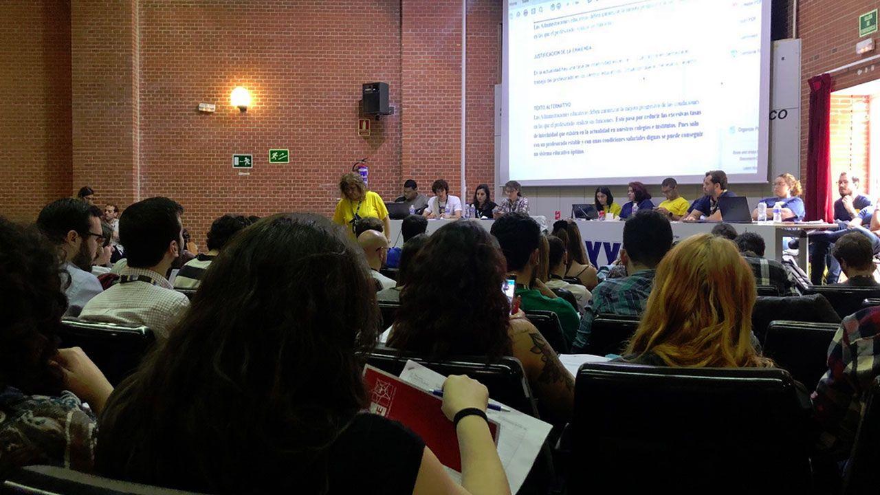 .Asamblea del Consejo de Juventud de España en Madrid