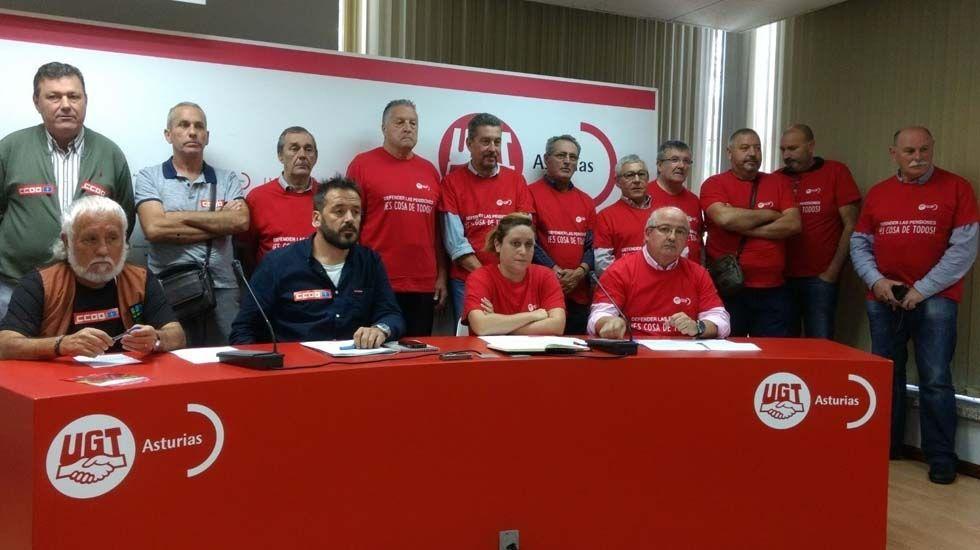 Catorce jubilados de UGT Asturias marchan a pie a Madrid defendiendo unas pensiones dignas.Captura del anuncio de Venturo