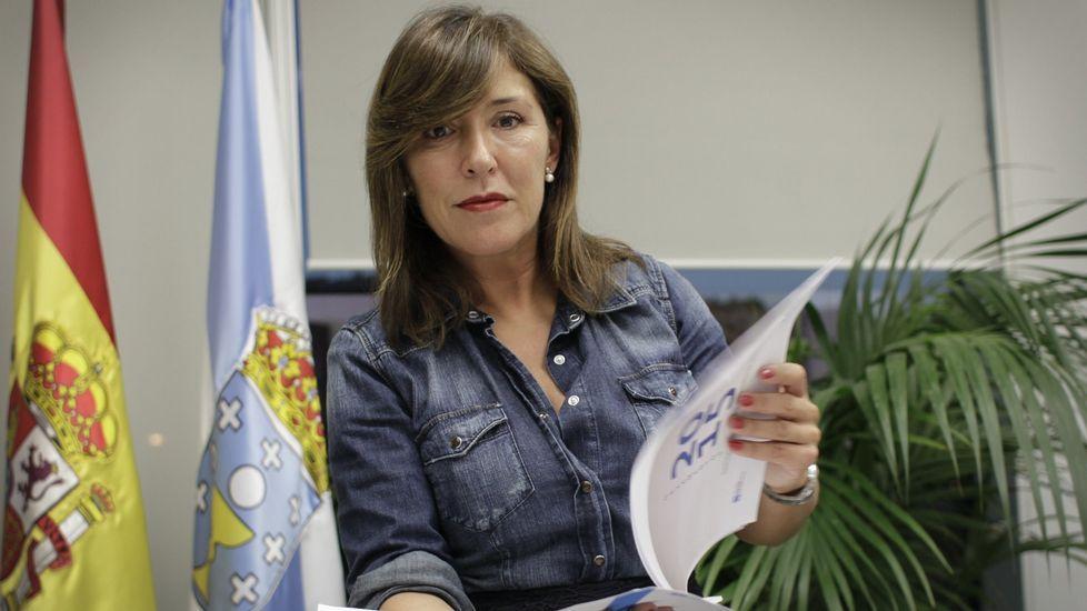 Beatriz Mato, conselleira de  Medio Ambiente e Ordenación do Territorio