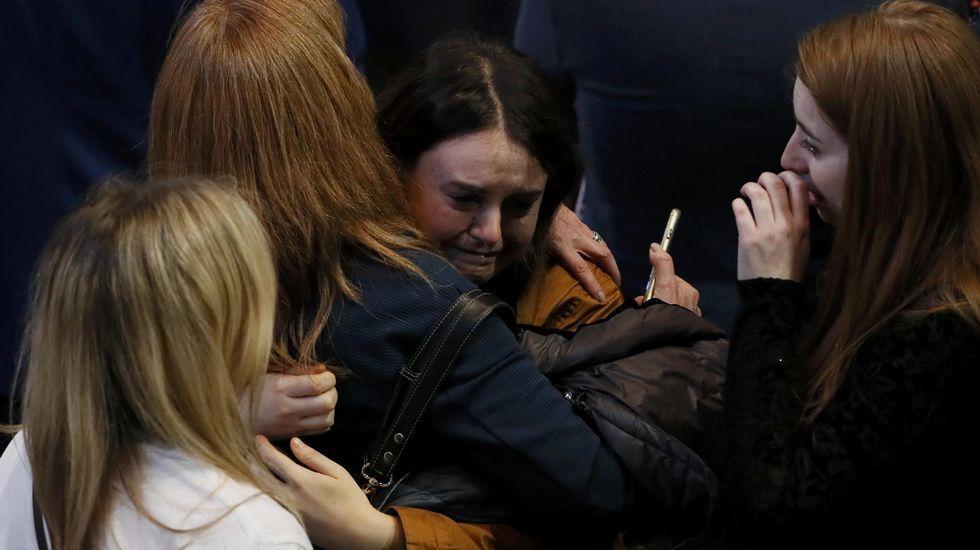 Lágrimas entre los demócratas.