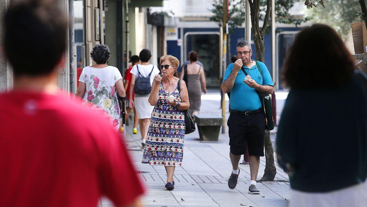 Ola de calor en Pontevedra