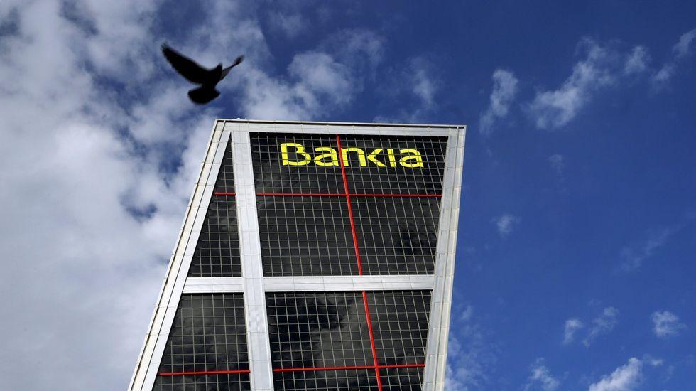 .Sede del Bankia en Madrid