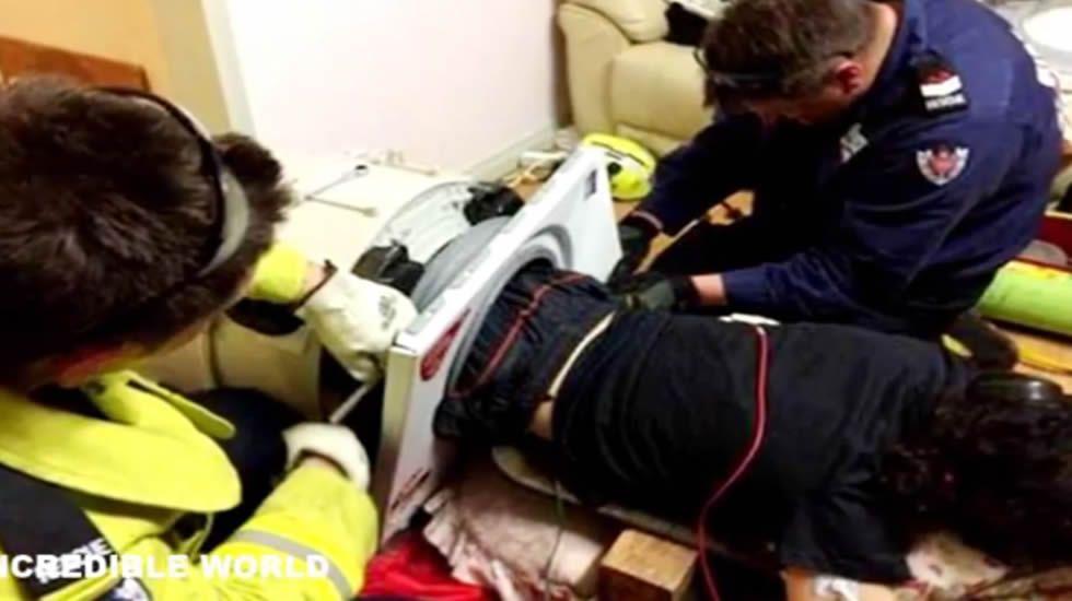 Las imágenes del rescate