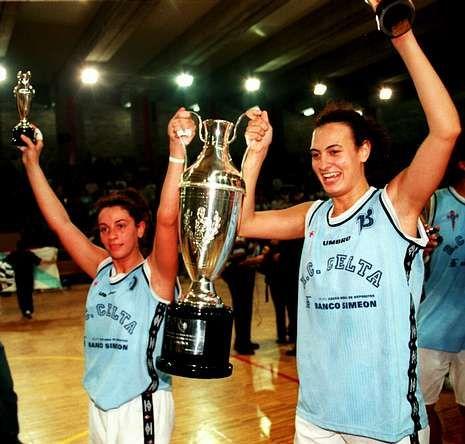 El cuadro vigués ganó cinco Ligas Femeninas, una de ella en la campaña 98/99.