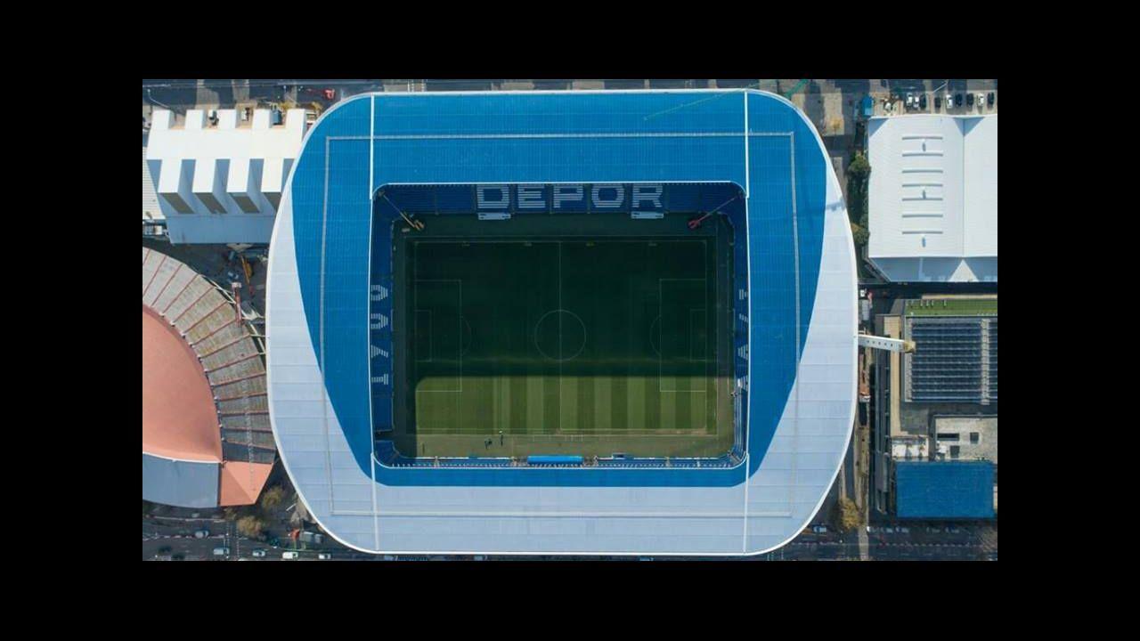 La reforma del estadio es otro de los legados de Tino Fernández