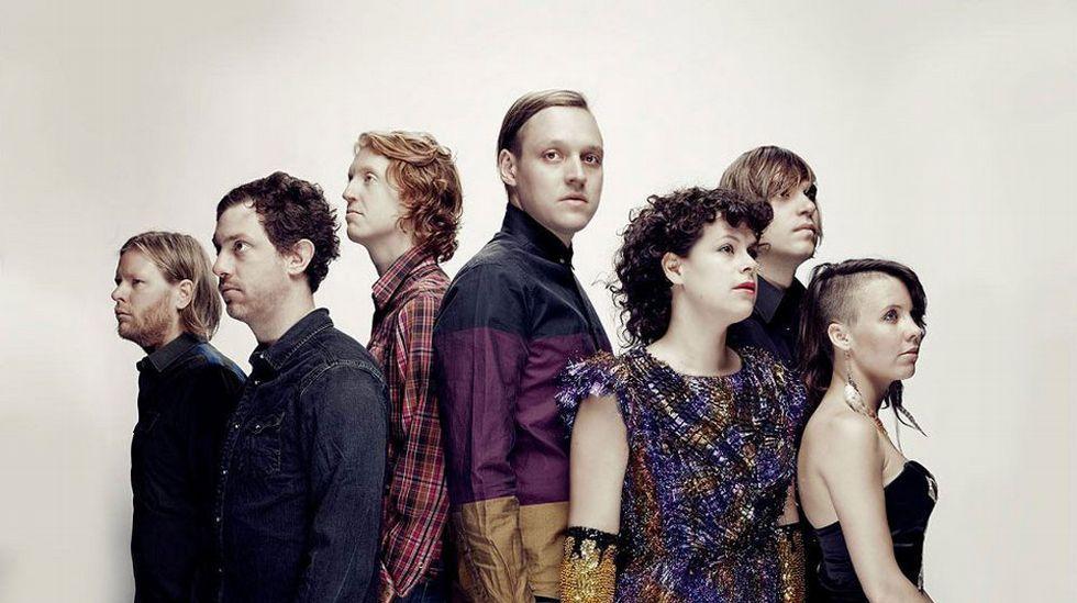 Los canadienses Arcade Fire, que editaron  I Give You The Power  en referencia a Donald Trump