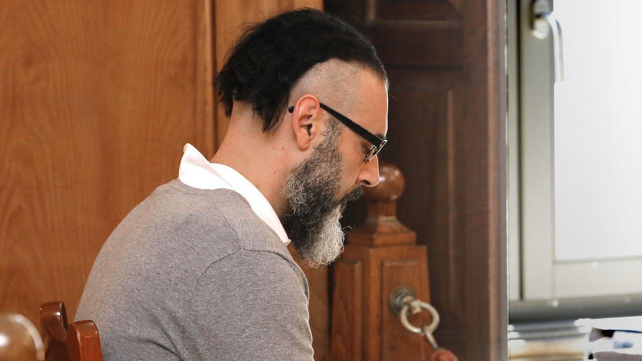 Veredicto y sentencia en firme: prisión permanente revisable para David Oubel.El fiscal Alejandro Pazos, el pasado jueves tras conocerse el veredicto del jurado
