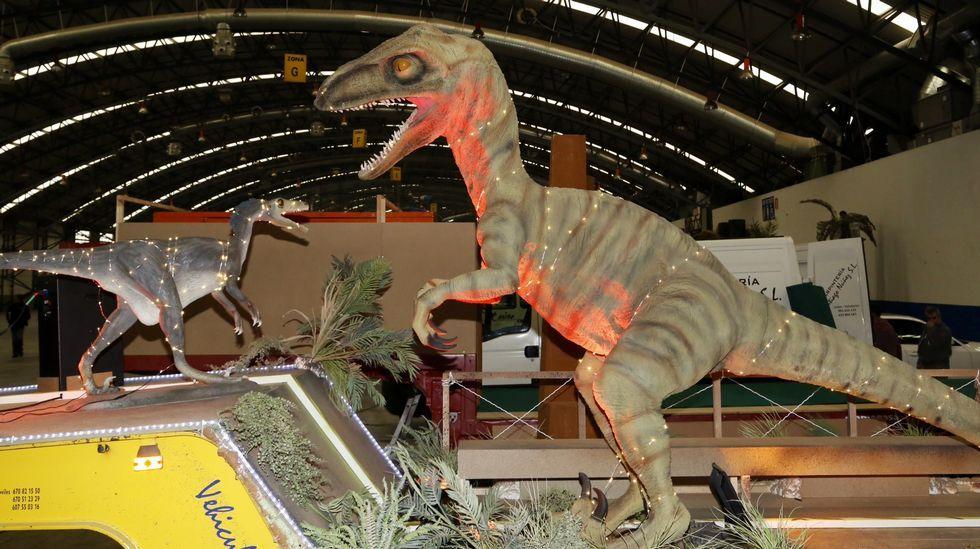 Los Dinosaurios acompañarán a los Reyes en Vigo
