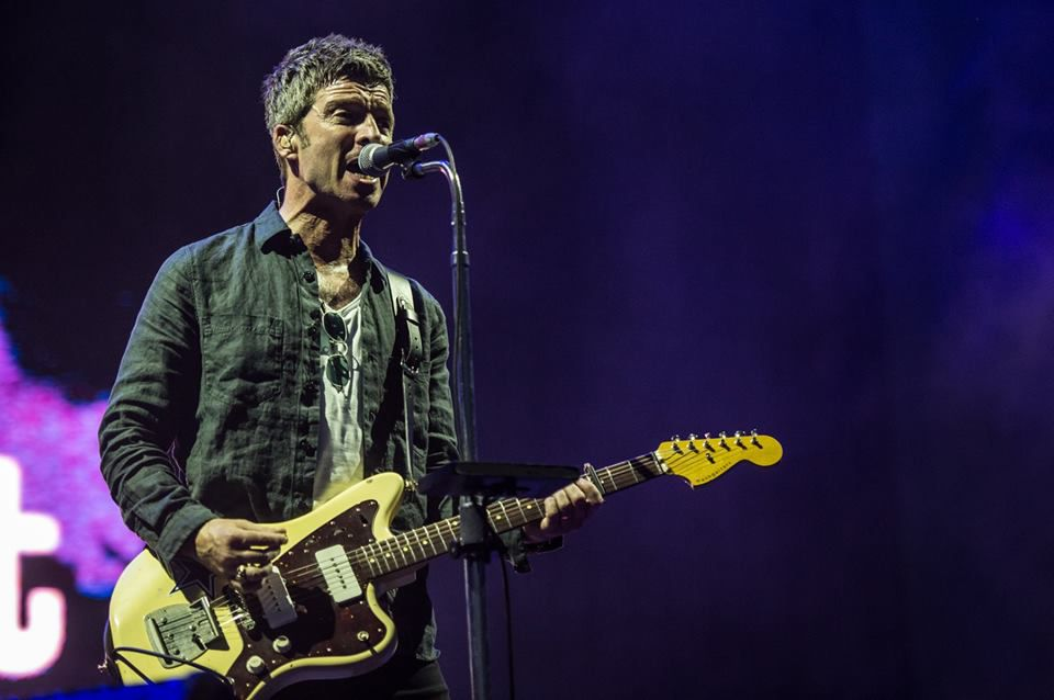 Noel Gallagher en concierto en el I-Days Festival 2018, en Milán