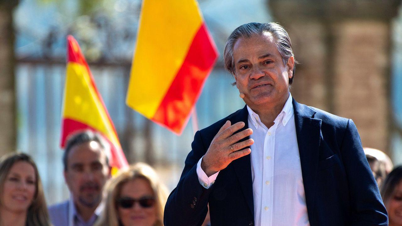 Abascal estrena campaña en Asturias.Marcos de Quinto