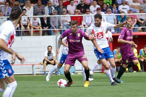 Pardo Extremadura Cartagena.Pardo celebra su gol frente al Cartagena