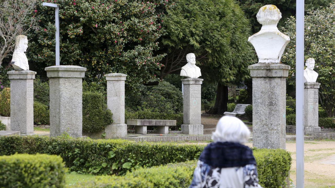 En el Reina Sofía faltan los bustos de Bello Piñeiro y Concepción Arenal: el primero se encuentra desaparecido y el segundo será restaurado y volverá a su ubicación original