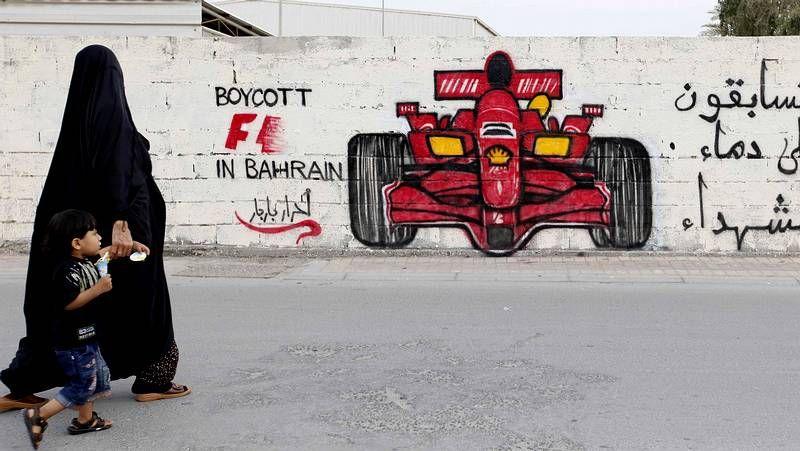 Baréin recibe de uñas al Gran Premio de fórmula 1