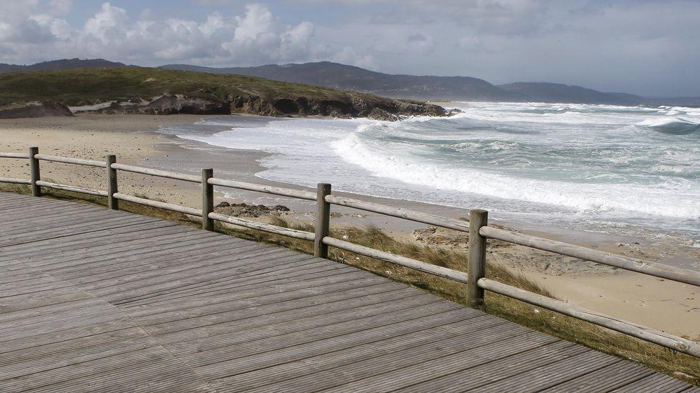 Carballo. Playa Pedra do Sal