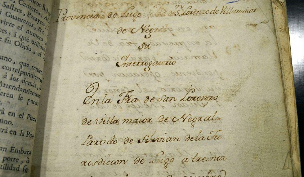 El Catastro de la Ensenada contiene la reforma fiscal que trató de implantar el rey Fernando VI.