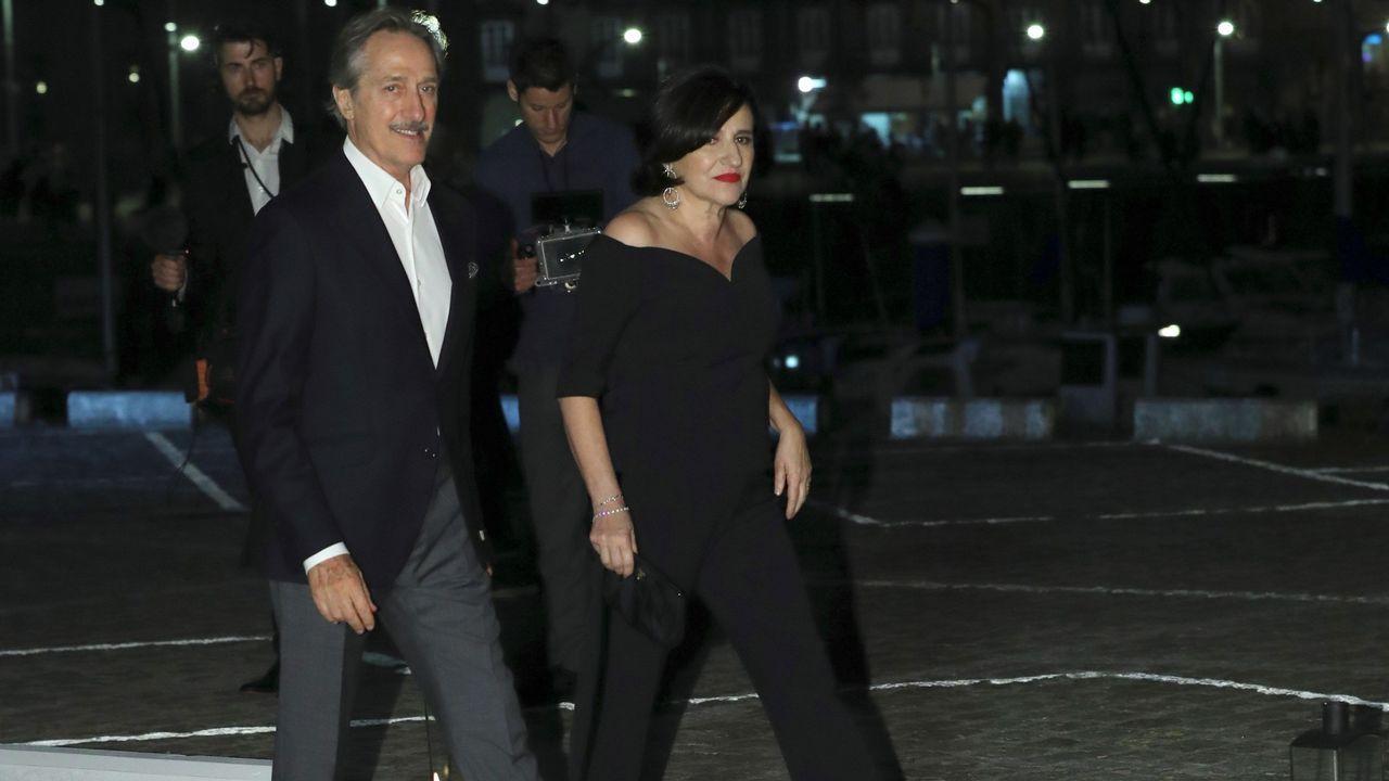 Roberto Torretta y su esposa Carmen Echevarría.