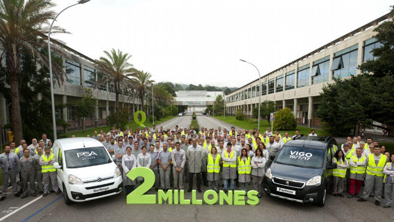El pasado mes de julio PSA Vigo alcanzó la unidad número dos millones de la actual generación. Desde 1996, casi cinco millones de estos vehículos han salido de la ciudad olívica.