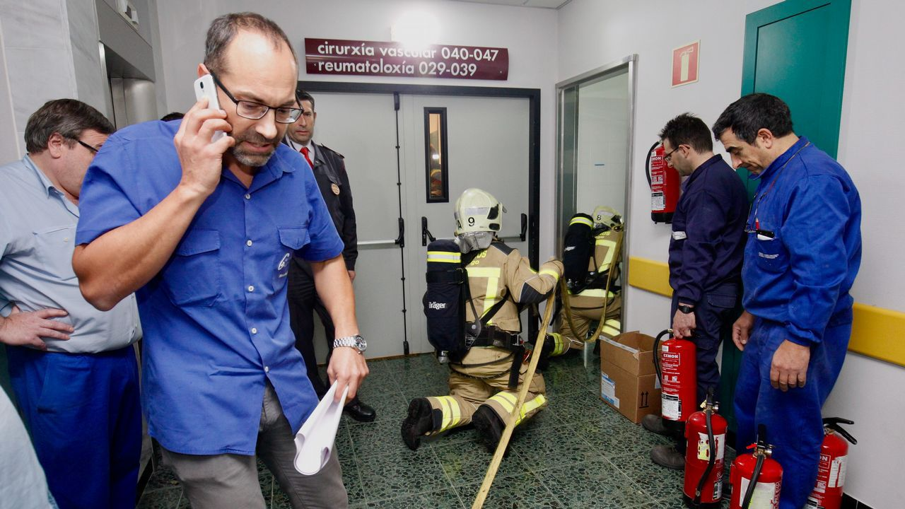 El CHUS perfila su preparación para superar una catástrofe