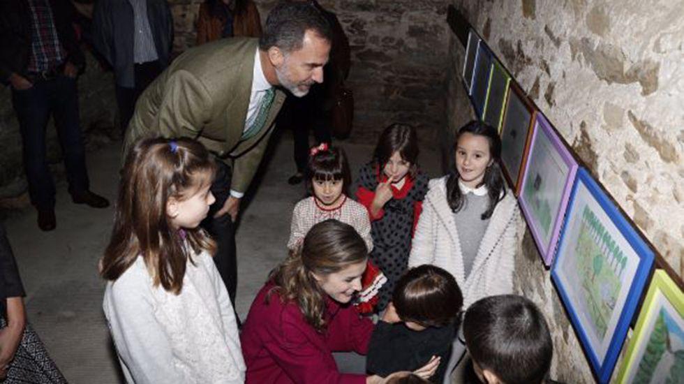Los Reyes visitan los Oscos.VISITA DEL MONARCA EL PASADO 29 DE MARZO