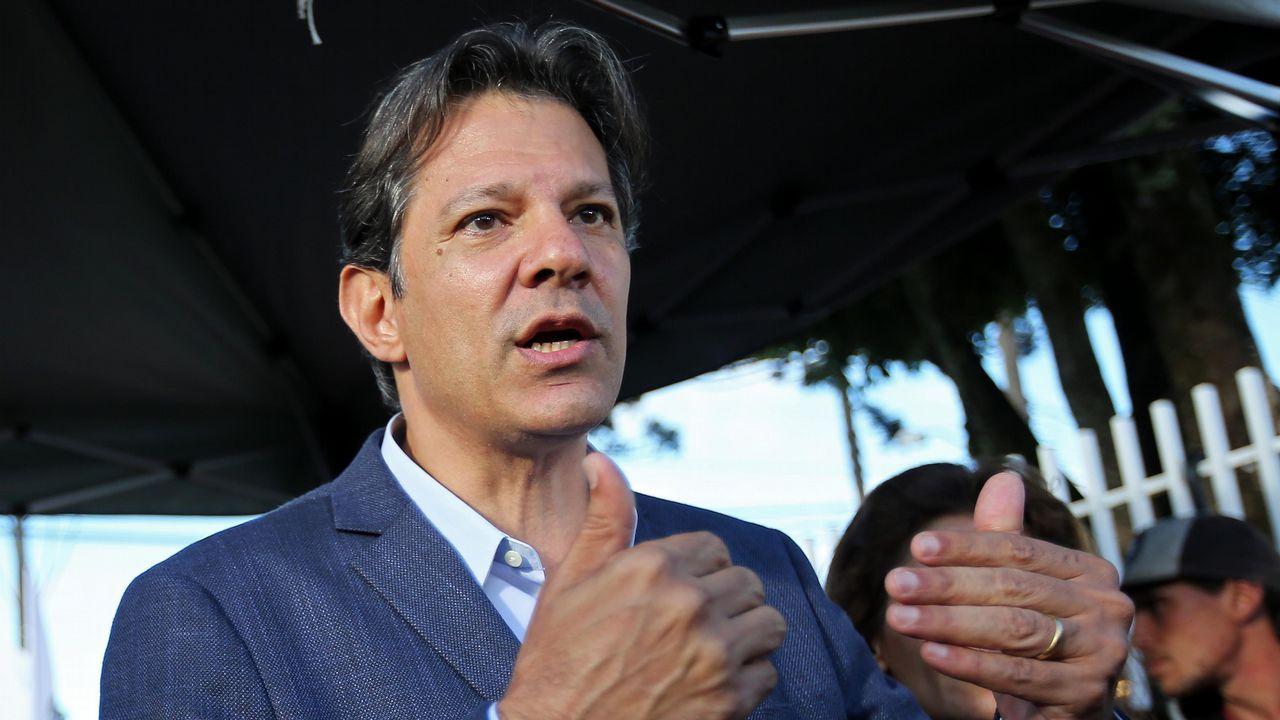 .El posible sustituto de Lula, Haddad