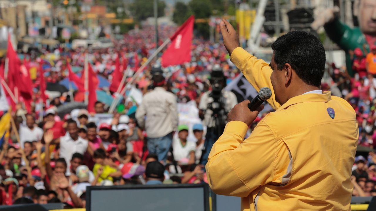 El motín en el Helicoide, se produce en plena campaña y a tan solo cuatro días de las elecciones presidenciales