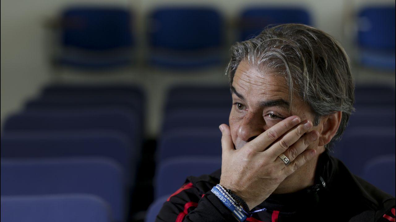 Lo mejor del Granada - Deportivo, en imágenes.Natxo González no sabe cuándo podrá contar con los cuatro lesionados de la plantilla