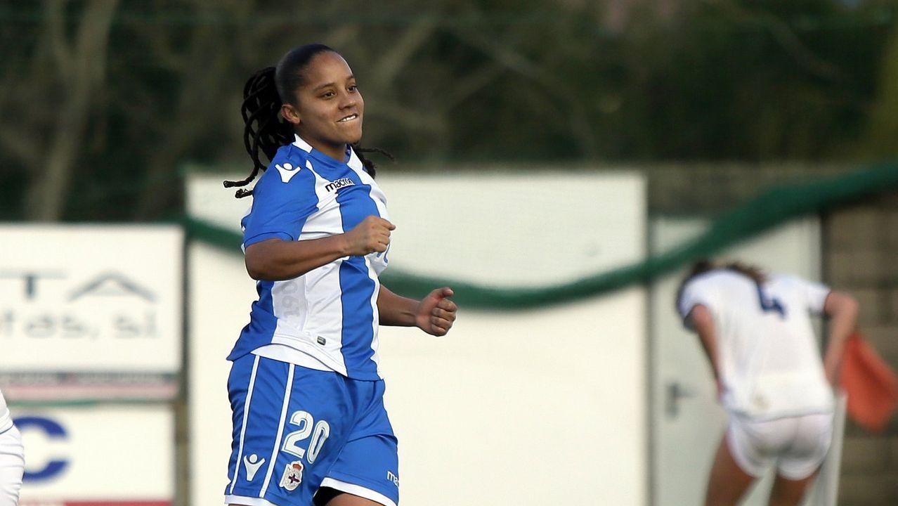 Las mejores imágenes del triunfo del Dépor Femenino en la Copa Galicia.Kika Moreno